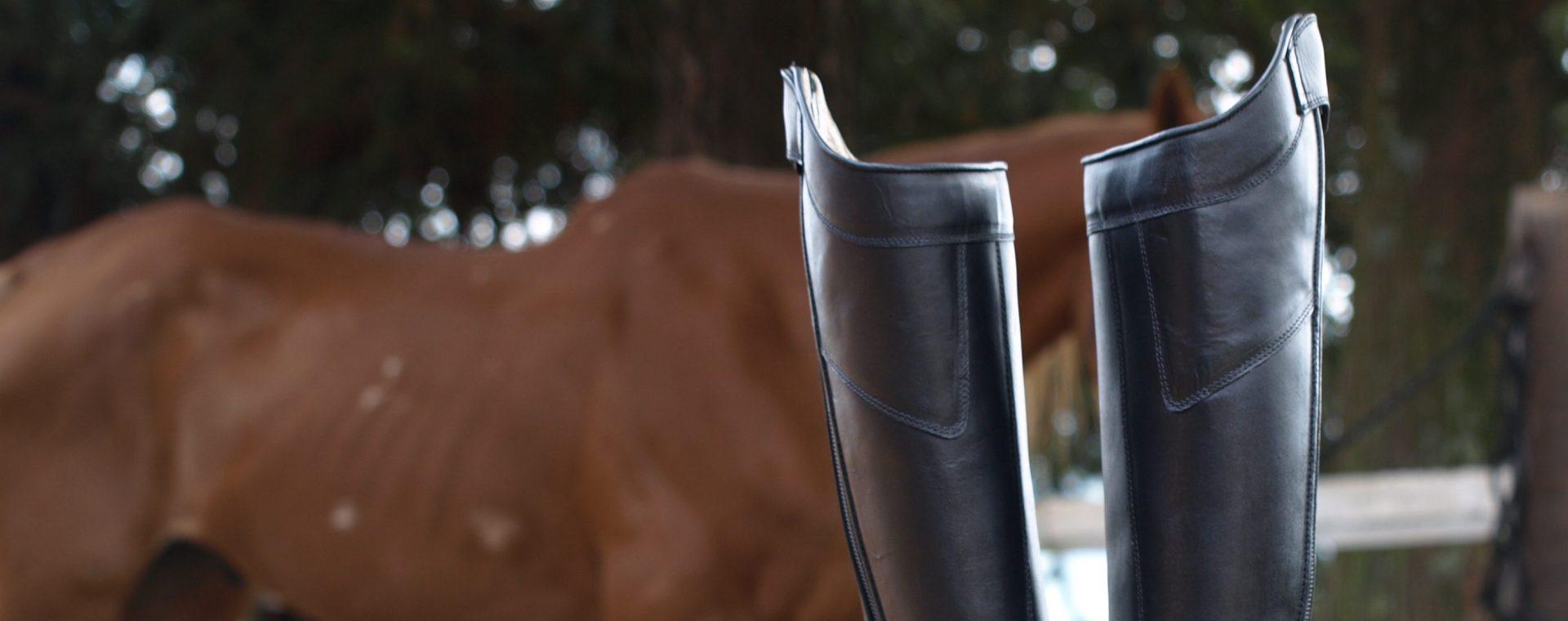 Botas equestres sob medida